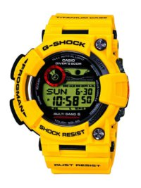 GWF-T1030E-9 30th Anniversary Lightning Yellow Titanium Frogman