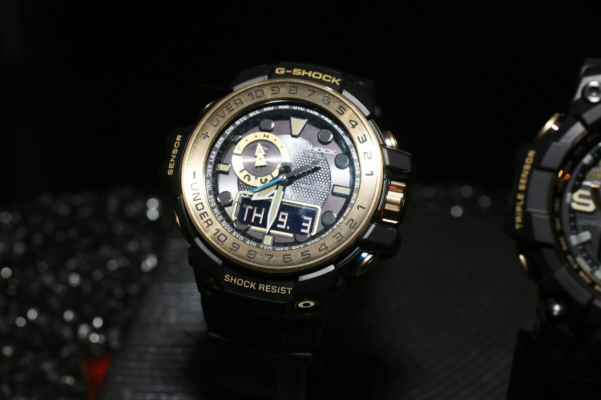 G Shock Black And Gold Master Of Series Gulfmaster Mudmaster Casio Baby Ba 120 1b Hitam Gwn 1000gb 1a