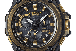 "G-Shock MTG-G1000BS-1A ""2015 Baselworld"" Gold x Black"