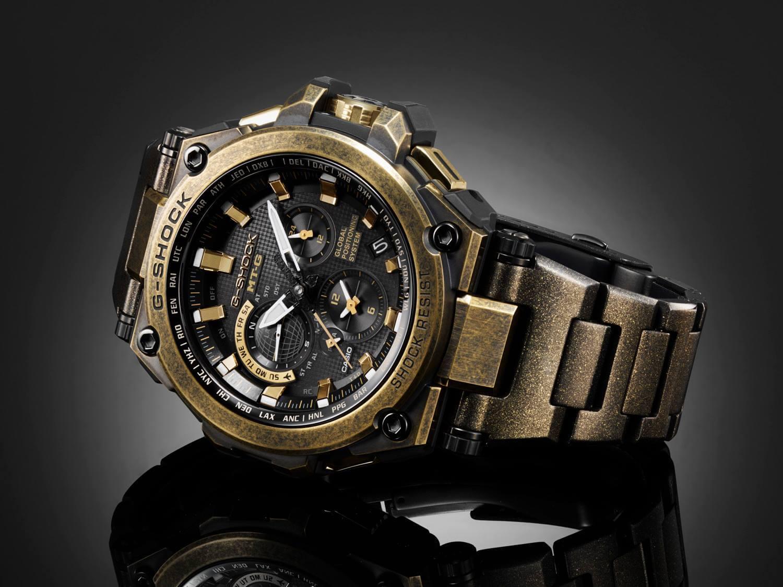 G Shock Mtg G1000bs 1a 2015 Baselworld Gold X Black G