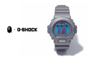 BAPE x G-SHOCK 2015 AW Collaboration Watch
