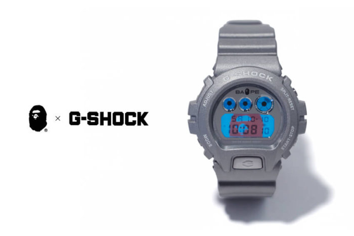 BAPE x G-SHOCK 2015 AW Collaboration Watch