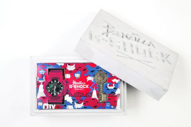 G-Shock X Benzilla Siam Manud Street 2015 watch