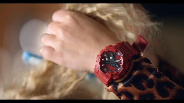 Britney Spears with Casio G-Shock in Pretty Girls
