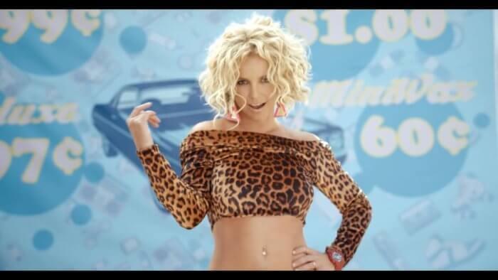 Britney Spears wearing G-Shock watch