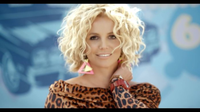 Britney Spears with G-Shock S Series watch