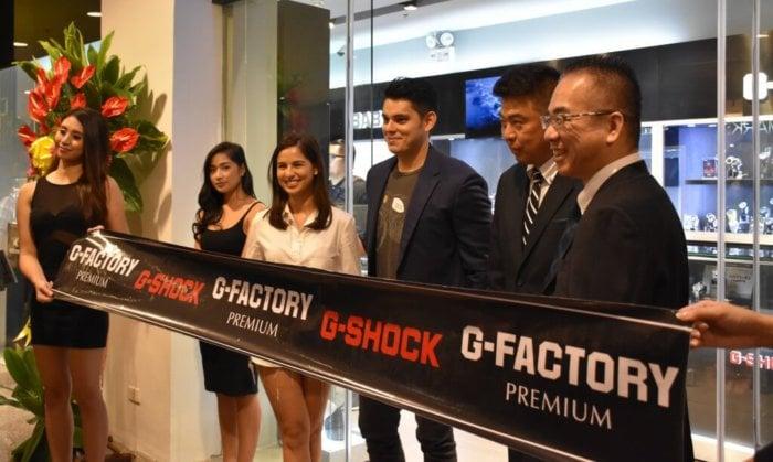G-Factory Premium G-Shock Store Manila Philippines