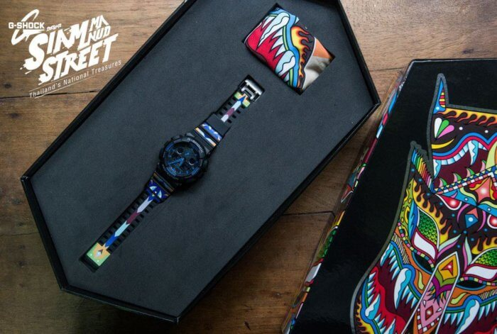 G-Shock X P7 Siam Manud Street 2015 watch