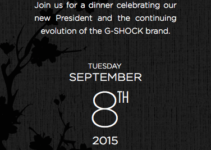 G-Shock Four Seasons Dinner