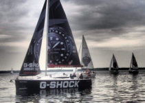 G-Shock Sailing Team Boat