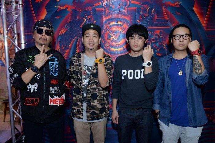 G-Shock Siam Manud Street 2015 Benzilla, Clubpopp, P7, Tikkywow