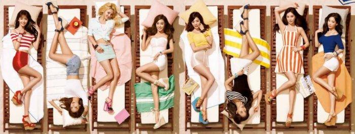 Girls' Generation SNSD Casio Baby-G 2015 Catalog