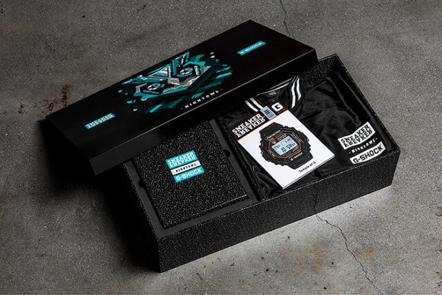 Sneaker Freaker G-Shock Nightowl Box Set