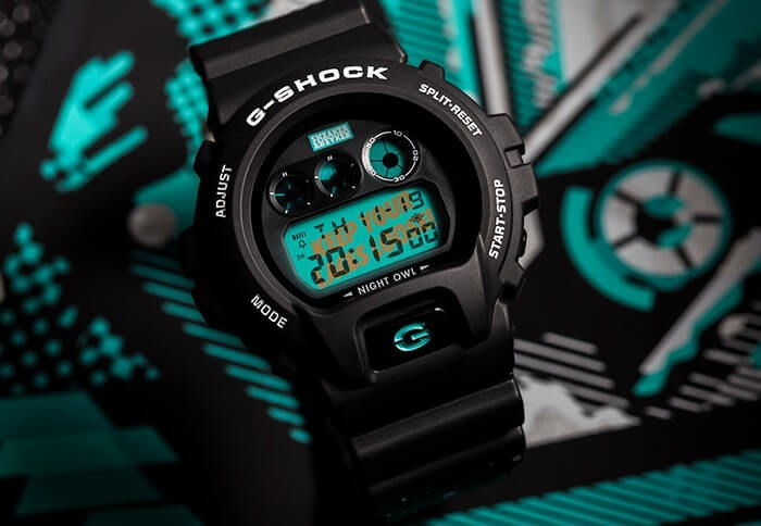 Sneaker Freaker G-Shock Nightowl DW6900SF-1D Watch