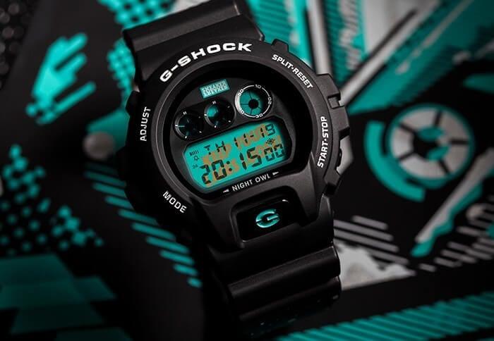 Sneaker Freaker G-Shock Nightowl DW6900SF-1D Watch
