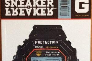 """Sneaker Freaker """"Temple of G"""" G-Shock Magazine"""