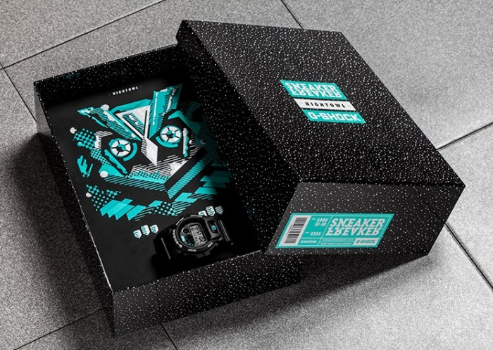Sneaker Freaker Nightowl G-Shock Box