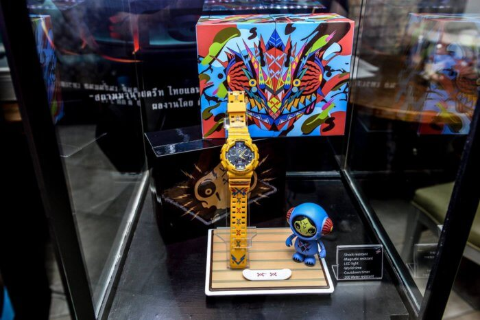 Tikkywow G-Shock Siam Manud Street